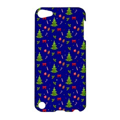 Christmas Pattern Apple Ipod Touch 5 Hardshell Case by Valentinaart
