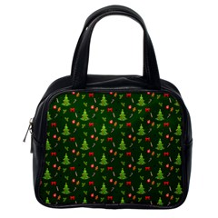 Christmas Pattern Classic Handbags (one Side) by Valentinaart