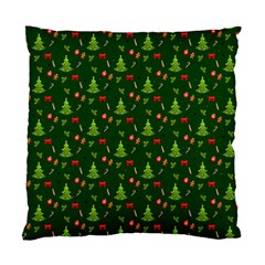 Christmas Pattern Standard Cushion Case (one Side) by Valentinaart