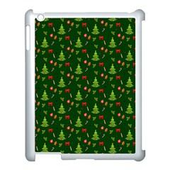 Christmas Pattern Apple Ipad 3/4 Case (white) by Valentinaart