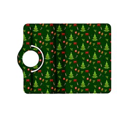 Christmas Pattern Kindle Fire Hd (2013) Flip 360 Case by Valentinaart