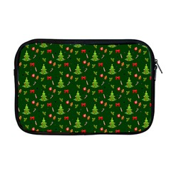 Christmas Pattern Apple Macbook Pro 17  Zipper Case by Valentinaart