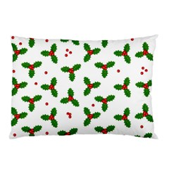 Christmas Pattern Pillow Case (two Sides) by Valentinaart