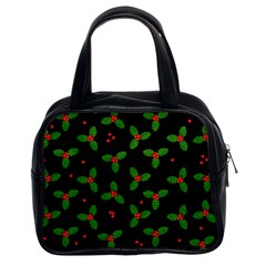 Christmas Pattern Classic Handbags (2 Sides) by Valentinaart