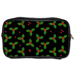 Christmas Pattern Toiletries Bags 2 Side by Valentinaart