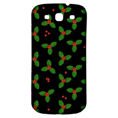 Christmas Pattern Samsung Galaxy S3 S Iii Classic Hardshell Back Case by Valentinaart