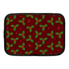 Christmas Pattern Netbook Case (medium)  by Valentinaart