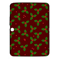 Christmas Pattern Samsung Galaxy Tab 3 (10 1 ) P5200 Hardshell Case  by Valentinaart