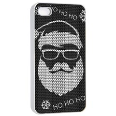 Ugly Christmas Sweater Apple Iphone 4/4s Seamless Case (white) by Valentinaart