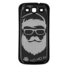 Ugly Christmas Sweater Samsung Galaxy S3 Back Case (black) by Valentinaart