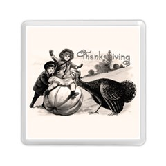 Vintage Thanksgiving Memory Card Reader (square)  by Valentinaart