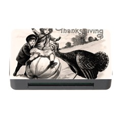 Vintage Thanksgiving Memory Card Reader With Cf by Valentinaart