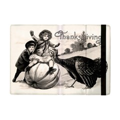 Vintage Thanksgiving Apple Ipad Mini Flip Case by Valentinaart