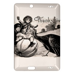 Vintage Thanksgiving Amazon Kindle Fire Hd (2013) Hardshell Case by Valentinaart