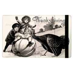 Vintage Thanksgiving Apple Ipad Pro 9 7   Flip Case by Valentinaart