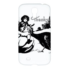 Vintage Thanksgiving Samsung Galaxy S4 I9500/i9505 Hardshell Case by Valentinaart