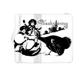 Vintage Thanksgiving Kindle Fire Hdx 8 9  Flip 360 Case by Valentinaart