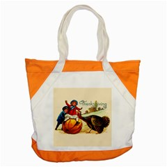 Vintage Thanksgiving Accent Tote Bag by Valentinaart