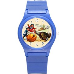 Vintage Thanksgiving Round Plastic Sport Watch (s) by Valentinaart