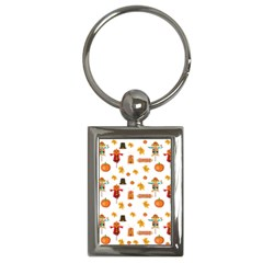 Thanksgiving Key Chains (rectangle)  by Valentinaart