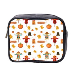 Thanksgiving Mini Toiletries Bag 2 Side by Valentinaart