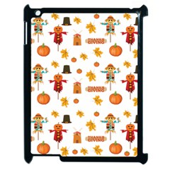 Thanksgiving Apple Ipad 2 Case (black) by Valentinaart