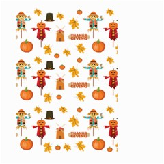 Thanksgiving Large Garden Flag (two Sides) by Valentinaart