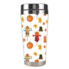 Thanksgiving Stainless Steel Travel Tumblers by Valentinaart