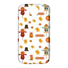 Thanksgiving Samsung Galaxy S4 Classic Hardshell Case (pc+silicone) by Valentinaart