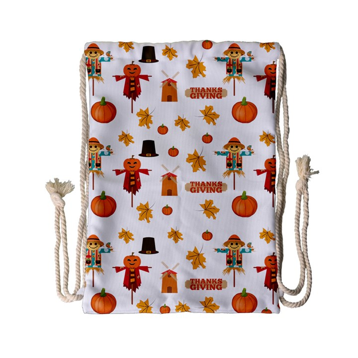 Thanksgiving Drawstring Bag (Small)