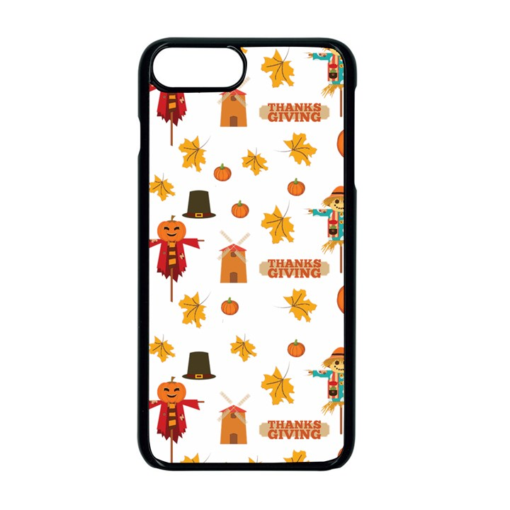 Thanksgiving Apple iPhone 8 Plus Seamless Case (Black)