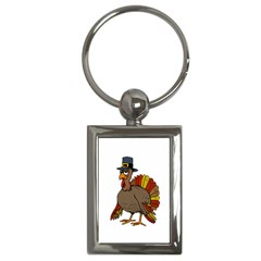 Thanksgiving Turkey  Key Chains (rectangle)  by Valentinaart