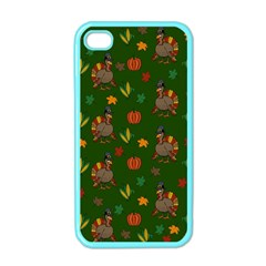 Thanksgiving Turkey  Apple Iphone 4 Case (color) by Valentinaart