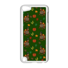 Thanksgiving Turkey  Apple Ipod Touch 5 Case (white) by Valentinaart