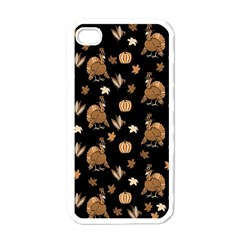 Thanksgiving Turkey  Apple Iphone 4 Case (white) by Valentinaart