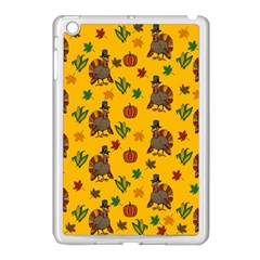 Thanksgiving Turkey  Apple Ipad Mini Case (white) by Valentinaart