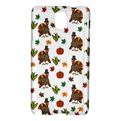 Thanksgiving Turkey  Samsung Galaxy Note 3 N9005 Hardshell Case by Valentinaart