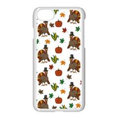 Thanksgiving Turkey  Apple Iphone 7 Seamless Case (white)