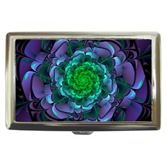 Beautiful Purple & Green Aeonium Arboreum Zwartkop Cigarette Money Cases by jayaprime