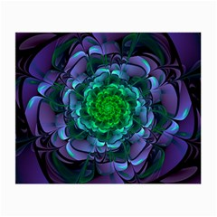 Beautiful Purple & Green Aeonium Arboreum Zwartkop Small Glasses Cloth by jayaprime