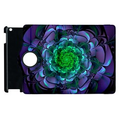 Beautiful Purple & Green Aeonium Arboreum Zwartkop Apple Ipad 3/4 Flip 360 Case by jayaprime