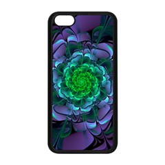 Beautiful Purple & Green Aeonium Arboreum Zwartkop Apple Iphone 5c Seamless Case (black) by jayaprime