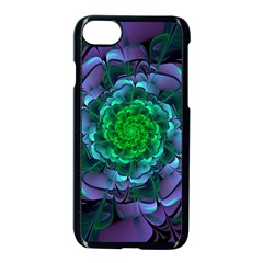 Beautiful Purple & Green Aeonium Arboreum Zwartkop Apple Iphone 7 Seamless Case (black) by jayaprime