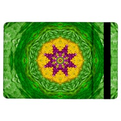 Feathers In The Sunshine Mandala Ipad Air Flip by pepitasart