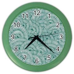 Design Art Wesley Fontes Color Wall Clocks by wesleystores