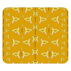 Fishes Talking About Love And   Yellow Stuff Double Sided Flano Blanket (small)  by pepitasart