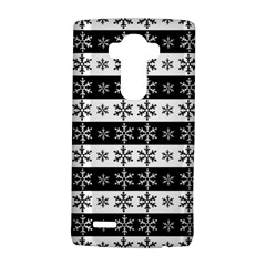 Snowflakes   Christmas Pattern Lg G4 Hardshell Case by Valentinaart