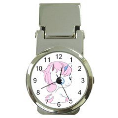 Baby Unicorn Money Clip Watches by Valentinaart