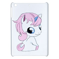 Baby Unicorn Apple Ipad Mini Hardshell Case by Valentinaart