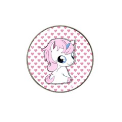 Baby Unicorn Hat Clip Ball Marker (10 Pack) by Valentinaart